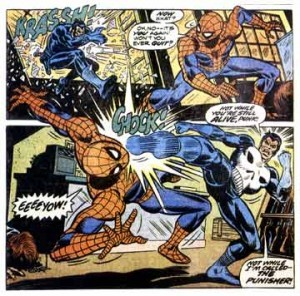 Punisher vs. Spiderman