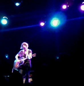"Far from ""Failer"" -- Kathleen Edwards shines at the El Rey Theatre (photo by the author)."
