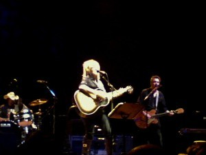 Nuthin' funny 'bout Little Honey -- Lucinda Williams at the Wiltern (photo by the author).