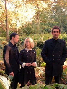 The Joy Formidable outdoors shot