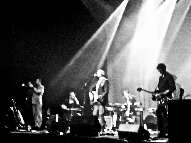 Highly flammable: Tindersticks at the Fonda (photo by author).