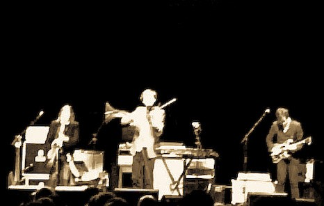Saw VI: Andrew Bird scorches with his violin at the Greek (photo by author).