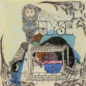 "Out of print original album cover for 1968 release ""Elyse"""